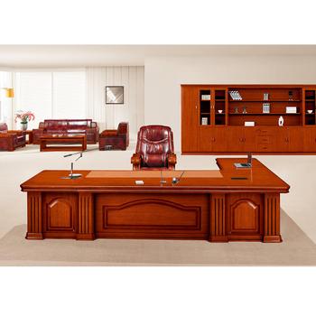 Top Quality Office Furniture Hy D5036 Teak Wood Ceo Executive Table High Desk