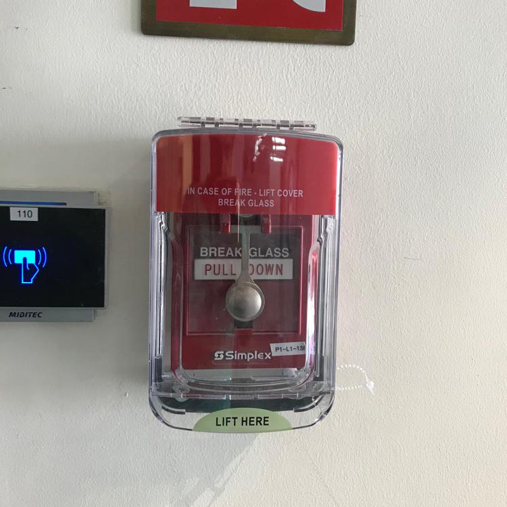 Manual Call Point Pull Station protective cover