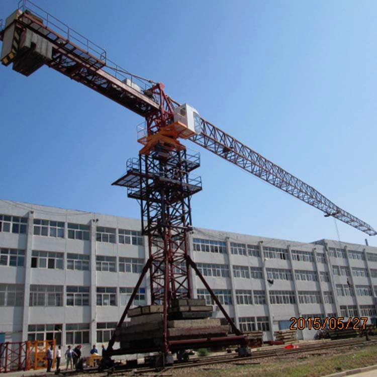 One Year Warranty High Safe China Mobile Tower Crane