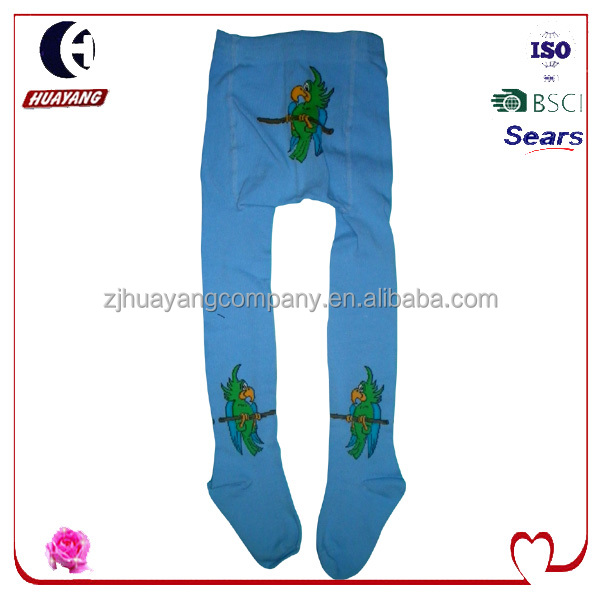 winter style baby knitted warm pants tights with parrot designs style#HYBD-086