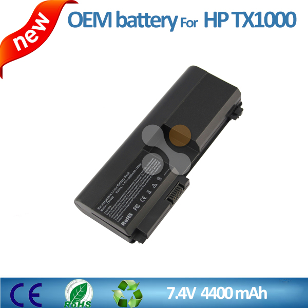Genuine laptop battery for HP Pavilion TX1000 1100 1200 7.4V 5200mAh