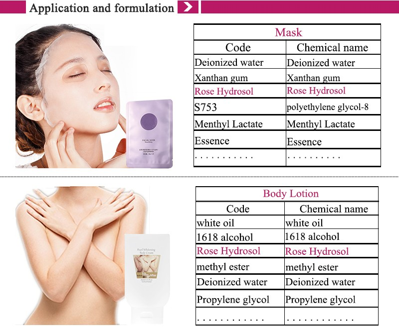 Organic Rose Water for skin care