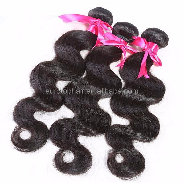 "18"" Body wave hair weave,wholesale factory price human hair"