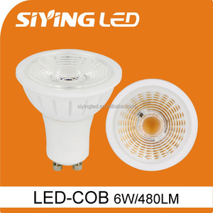 CE&RoHS COB ceramic Gu10 LED Spotlight 5W commercial led spotlight