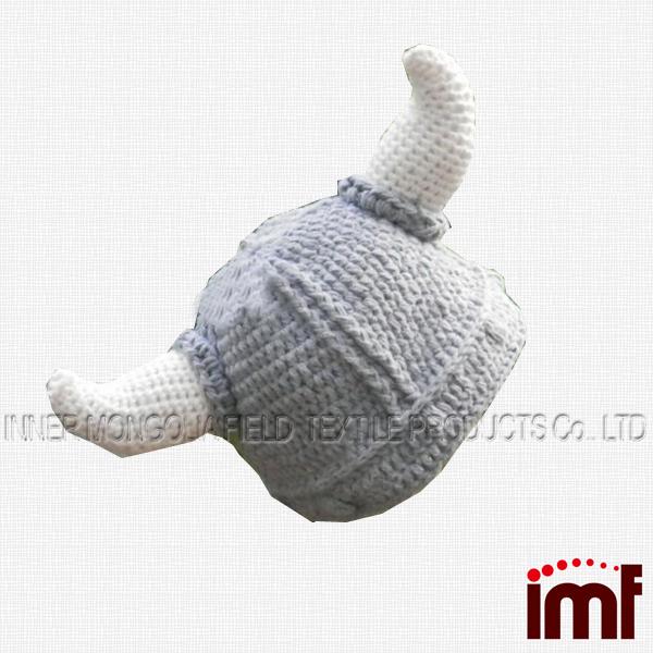 Color Gris Vikingo Sombrero Blanco Con Cuernos - Buy Product on ...