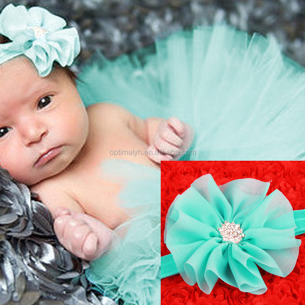 baby girls boutique baby headbands with tutus in set newborn baby clothes