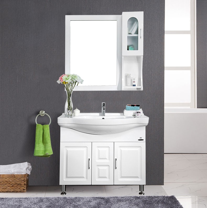 JOMOO Floor Stand Solid Wood Bathroom Vanity Cabinet