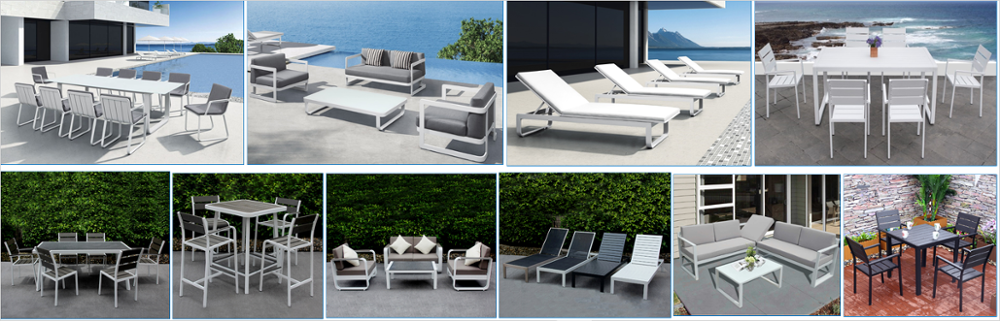 2018 hot sale New design rattan sofa 5pc white wicker outdoor garden white lounge set patio balcony furniture