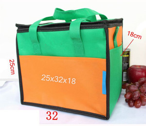 Eco Friendly Extra Large Insulation Carrying Whole Foods Lunch Bag