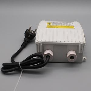 single phase water pump control box