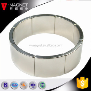 High performance half round semi-circle magnet