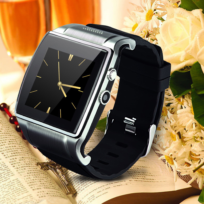 free shipping! new smart watch Hiwatch 008 With 2 million pixels Camera /Bluetooth dialer/mp3/mp4/FM/Video/Remote photo