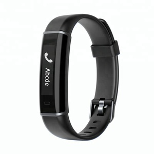 Image of ID130 HR Smart Bracelet with OLED Screen Pedometer Heart Rate Monitor Sleep Tracker Fitness Band