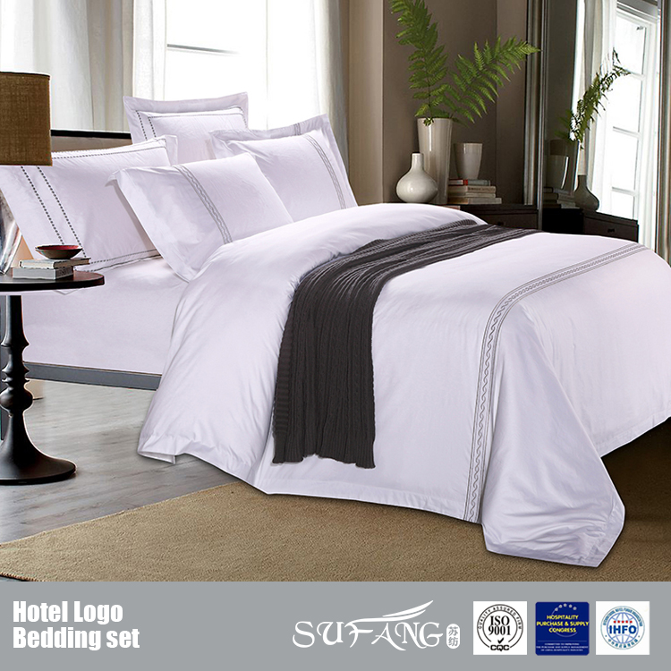 Cotton Embroidery Hotel Bedding Set/Cotton World Bedding Set/Four Season Hotel Bedding sets