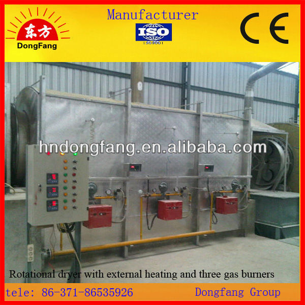 Best Manufacturer of Gypsum Rotary dryer Selling 2013