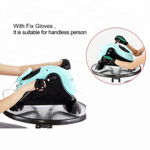 Lightweight exercise bike electronic foot cycle exerciser for rehabilitation training