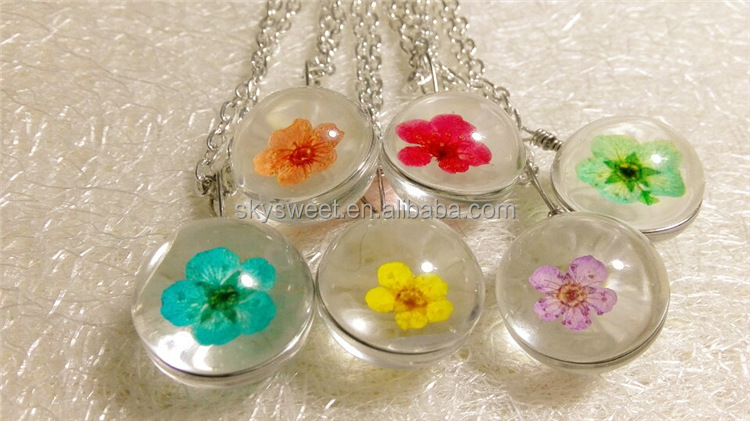 summer sweet really flower necklace jewelry