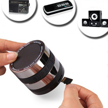 Super Bass Portable Metal Bluetooth Speaker with TF card USB FM radio 3 in 1 for iphone/samsung/LG/HTC