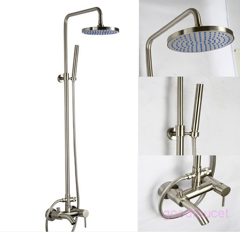 Cheap Brushed Nickel Shower Faucet Set Find Brushed Nickel Shower - Bathroom faucet and shower sets