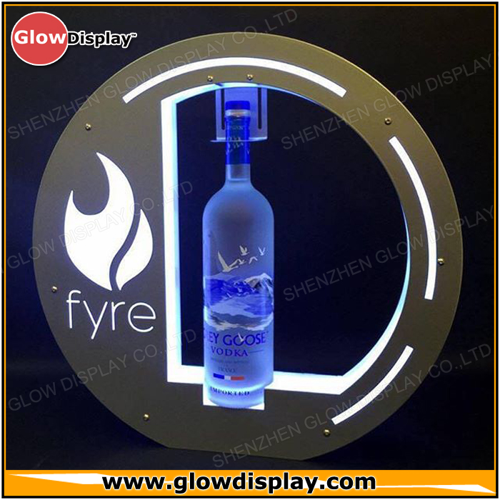 Wholesale LED VIP Bottle Presenter Service Tray