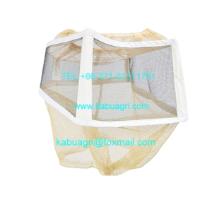 Square Folding Bee Veil yellow bee protective hat