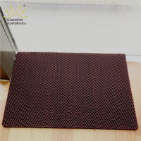 High quality durable plastic mesh carpet anti slip pvc floor mat