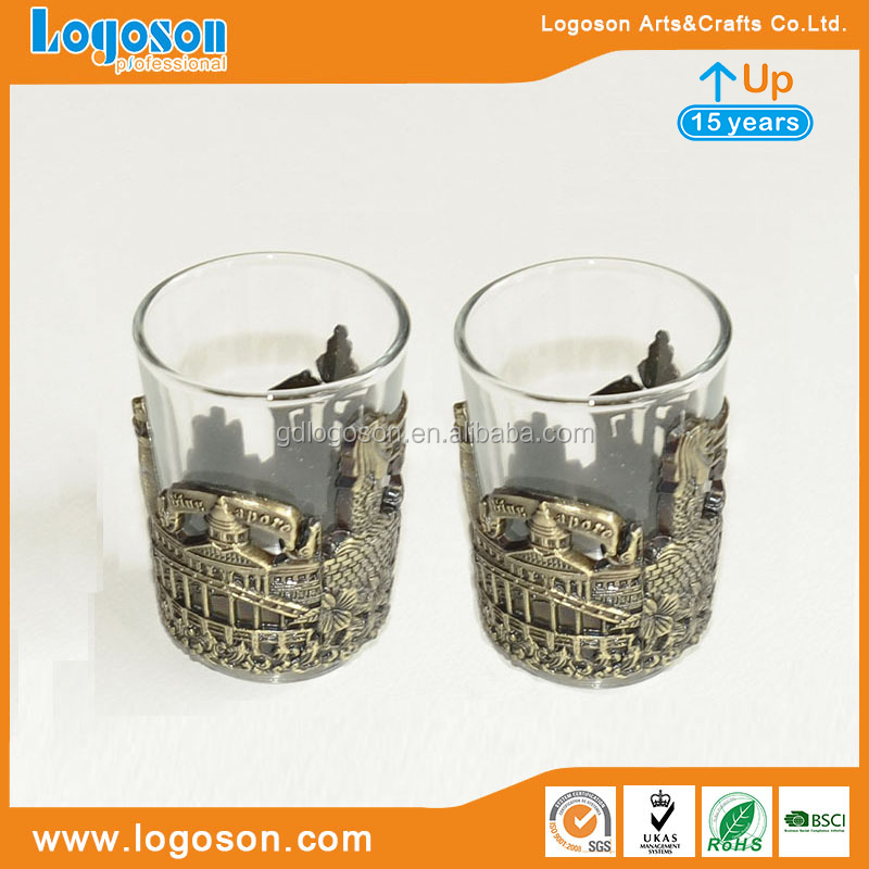 Egypt Pharaoh Personalized Souvenir Metal Shot Glass for Decoration Gifting Egyptian Shot Glass Cup Egypt Souvenirs
