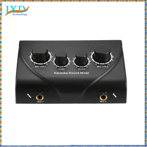 Karaoke Sound Mixer Professional Audio System Portable Mini Digital Audio Sound Karaoke Machine Echo Mixer System