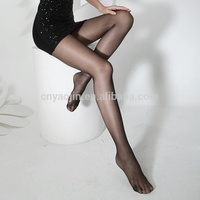 Hot Style Glossy Transparent Ladies Sexy Thin Tights Pantyhose