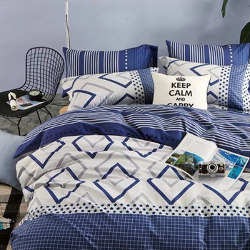 KOSMOS 2018 Design Home Linen High Quality Bedding 100% Cotton Bed Sheets  With Frills
