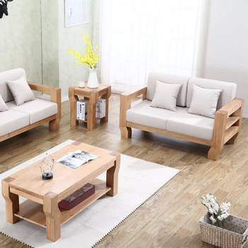 Low Price New L Shaped China Latest Wooden Sofa Set Designs - Buy ...