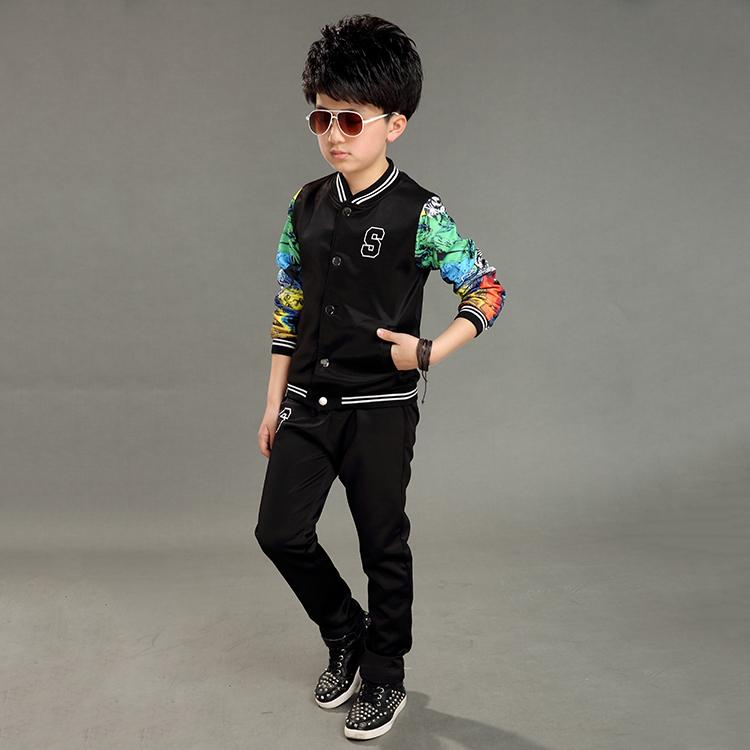 ec021903fe54 Новейший стиль, заводские товары, дешевые комплекты одежды для маленьких  мальчиков