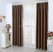 Fine technics blackout curtain fabric for the living room