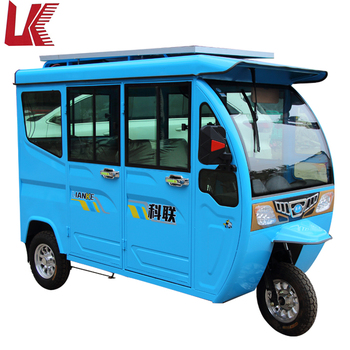 Pure Electricity Electric Vehicles With Penger Seats Tuk Hot