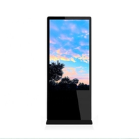 65 inch fashion floor standing 3G 4G network Android digital signage