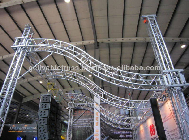 Circular Lighting Truss Design Lifting Roof Product On Alibaba