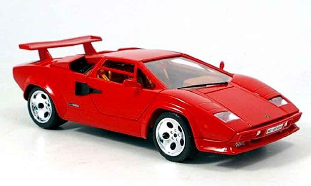 Lamborghini Countach 5000 Quattrovalvole in Red