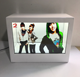 transparent LCD displayer with light box. adversting displayer