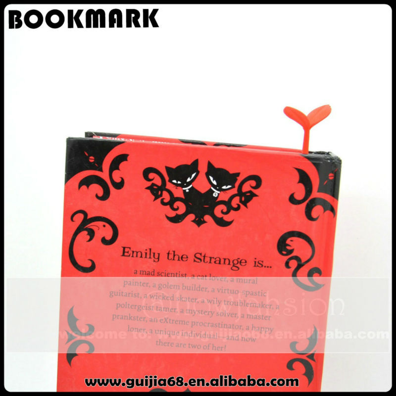 Bulk sale silicone sprout bookmark designs for kids