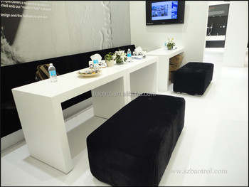 Beauty salon furniture manicure table nail station buy nail table beauty salon styling - Table de salon plexiglass ...
