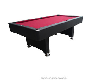 Home Use Billiard Table,red Carpet Pool Table,8 Feet Pool Table,fashionable