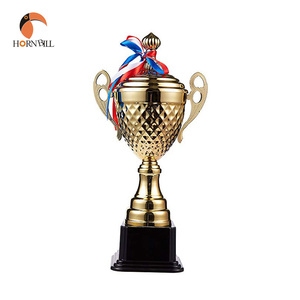 Hornbill Wholesale Custom Oscar Gold Silver Bronze Metal Sport Badminton Golf Award Champion Trophy Cup