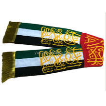 Cheap UAE National Day Knitted Flag Scarf