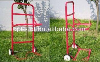 Metal Hand Push Cart For Warehouse/garden/ Storage SC 005
