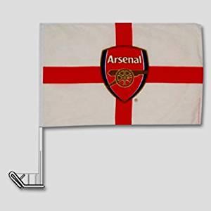 Arsenal soccer St. George's Cross Car Flag