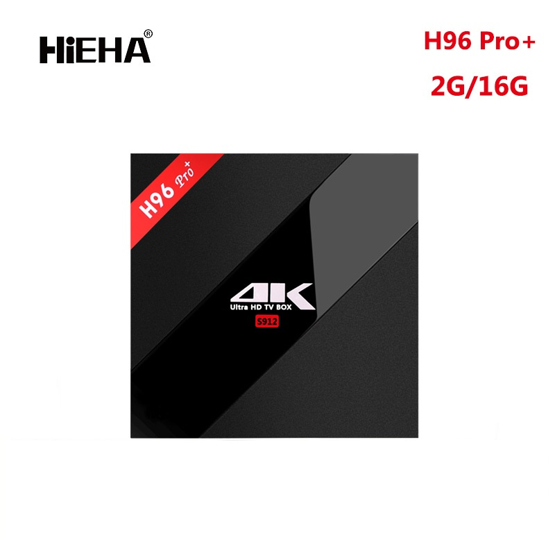 Original H96 PRO+ TV <strong>BOX</strong> Amlogic S912 Octa Core 4K 2G 16G Wifi <strong>Set</strong> <strong>top</strong> <strong>box</strong>