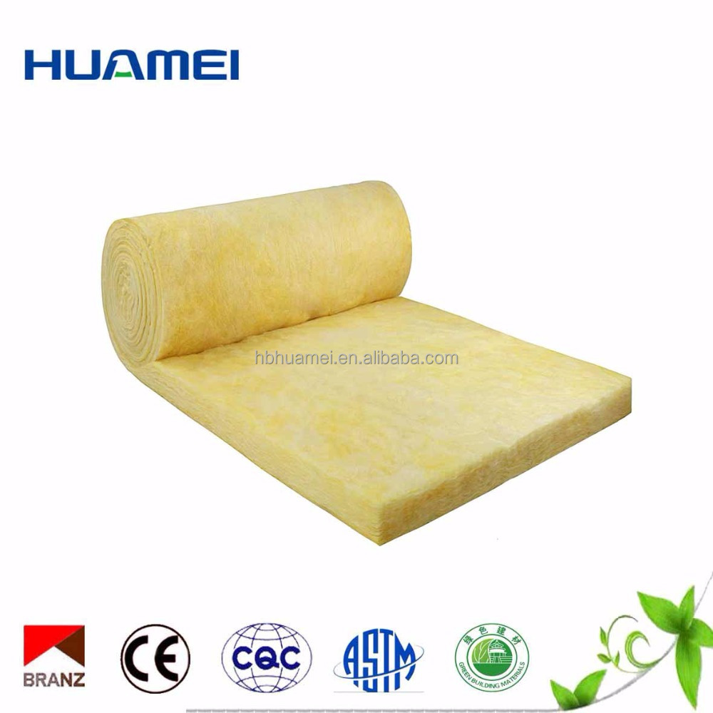 Fiberglass Insulation duct batt/glass wool felt thermal insulation