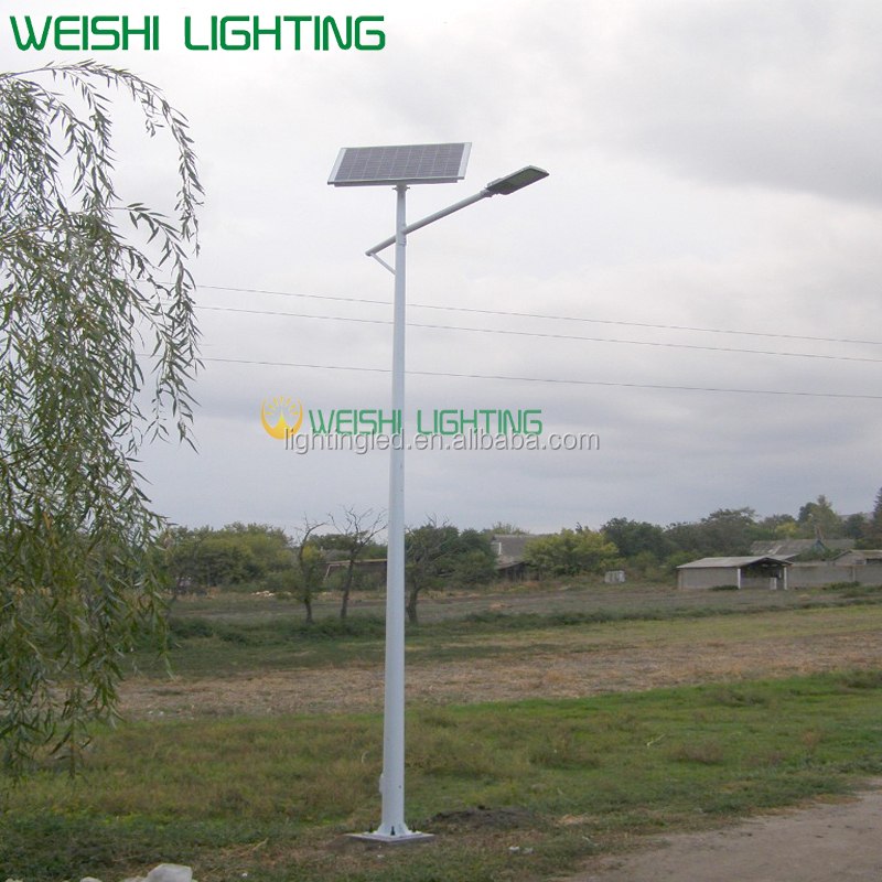 30W best prices of solar street lights/solar power street light/solar power energy street light pol with intelligent controller
