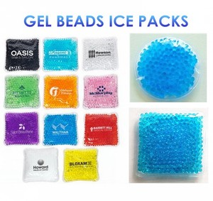 Gel Bead Ice Pack / Hot Cold Beads Therapy Gel Pack / Pearls Hot Cold Pack