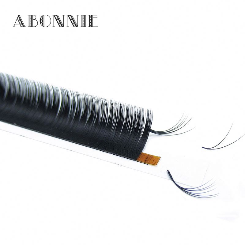 Distributor Own Brand Volume blooming Eyelash Extensions Fast Fan Individual Silk Lashes Rapid Blooming Lashes, N/a